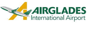 Airglades International airport logo
